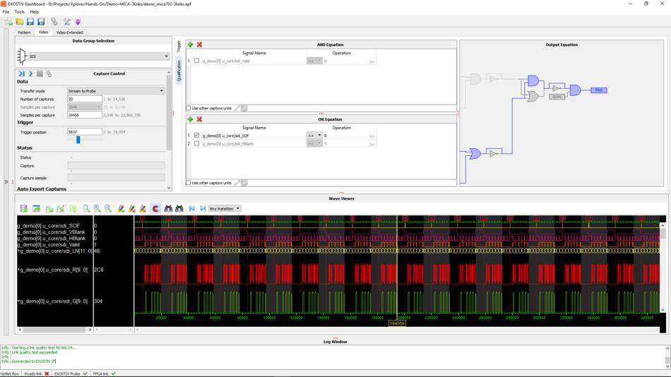 proFPGA Debugging with EXOSTIV labs