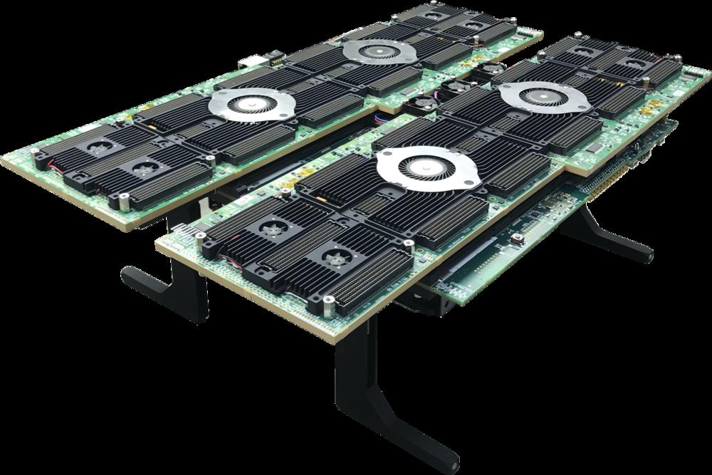 Quad Intel Stratix 10 GX 10M